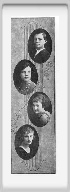 Class of 1923 - Page 1 - James Lovitt, Nancy Farwell, Rosa McKittrick, Pansy Plotner