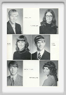 Class of 1973 - Page 1 - Daryl Casey, Janice Brack, Betty Moran, David Wetzel, Darwin Grumbein, Maureen Janke