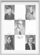 Class of 1973 - Page 3 - Danny McFarren, Guy Conner, Sponsor, Laura Hinman, Lorrie Morgan, Don Johnston