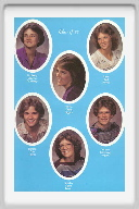 Class of 1983 - Page 1 - Kimberly Brackney, Kayle Higgins, Janet Conner, Sandra Taylor, Sandra Peters, Sabrina Higgins