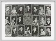 Class of 1932 - Carl Bible, Velma Brackney, George Donecker, Lucille Flack, Eileen Higgins, Harold Higgins, Lucy Higgins, Bernita Klee, Marjorie Nowles, <br>Derward Larsen, Frank McGaughey, Ada North, Juanita Ree, Richard Skinner, Claire Sweeney, Edward Swisher, Marie Wierman.<br><br>Lucy Higgins Vogle and Bernita Klee are the only graduates remaining. <br>Lucy lives in McCracken and is a Senior Companion<br>Bernita is a resident of St. John's Rest Home in Hays